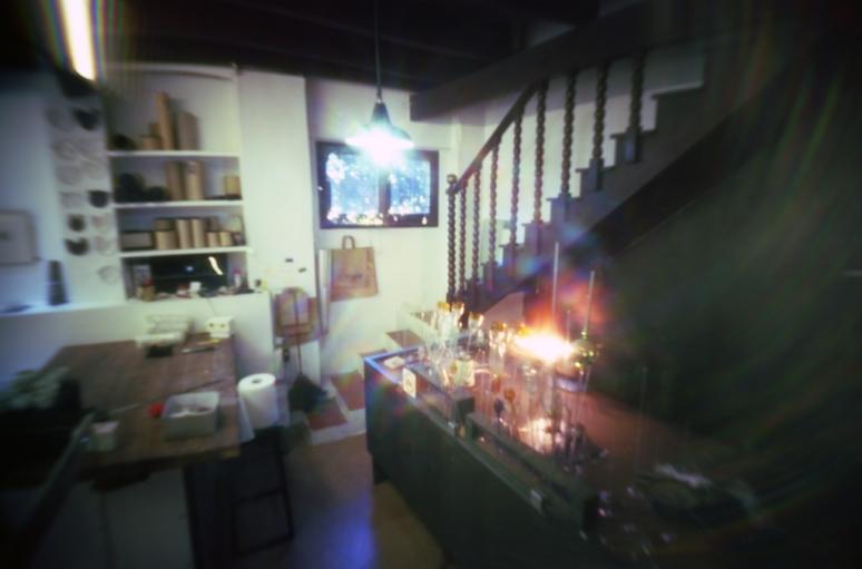 glassblower and ceramics workshop