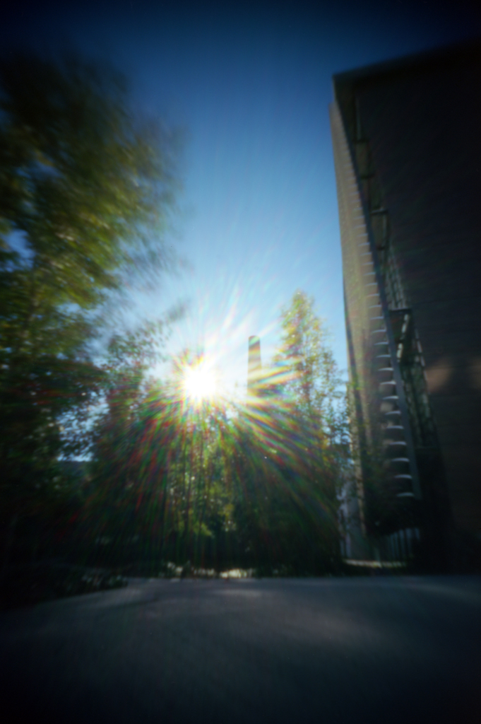 another side of the sun [my pinhole cameras #1]