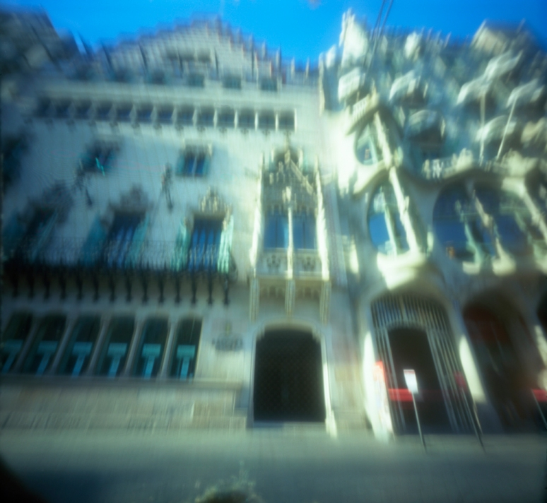 Amatller and Batlló houses [BCN] [my pinhole cameras series #6]