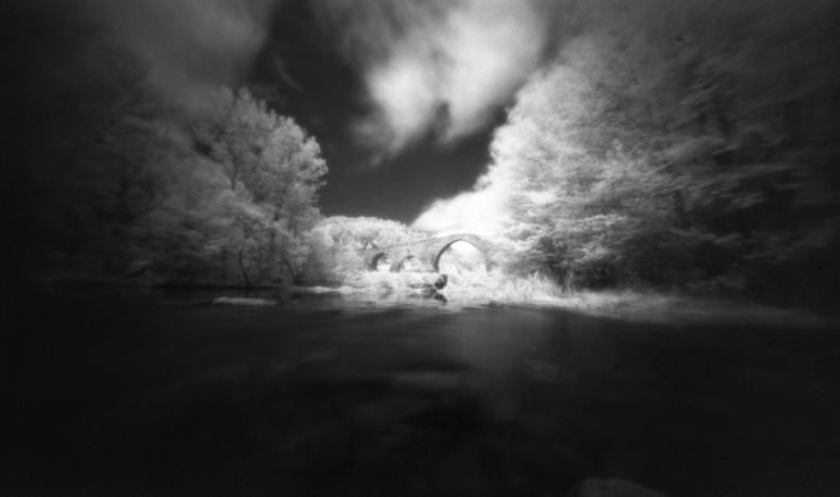 Pont de Pedret [my pinhole cameras #7]