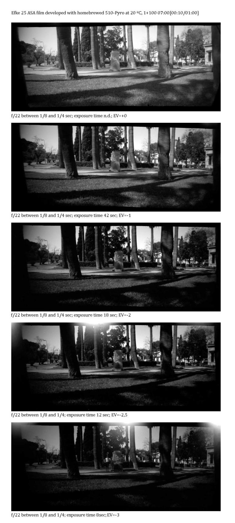 #1765 test roll #1 with an auto exposimeter 6x12 pinhole camera
